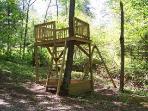 Tree Fort/Climbing Area