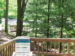 View from Back Deck (See the Pool?)
