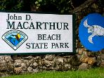 Rent Kayaks and tour Islands in MacArthur Beach Park