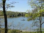 View of Meetinghouse Pond from drive