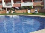 Swimming pool and splash pool