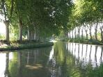 Canal du Midi, a UNESCO world heritage site