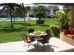 Your terrace at Playa del Sol- ground floor unit in Villa del Mar