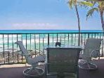 Absolute Oceanfront Condo # 204 ~ FREE parking~A/C