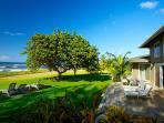 House: Ocean Front Patio Area