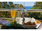 Enjoy Breakfast on any of our 9 Balconies