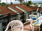 Spacious lanai to enjoy the 5th floor and view of Hualalai.