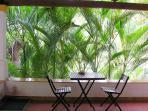 Teatime and Areca Palms