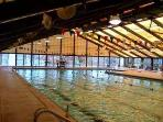 Coronado Center indoor pool open year round!  Just a 2-3 minute walk from the apt.!