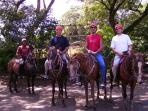 Horseback riding is a bast in Costa Rica