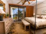 Master Bedroom with high thread count Egyptian cotton sheets