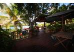 Outdoor Waterfront Terraces Adjoining Main Two Level Villa..