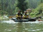 Activities around emerald trail - Rafting