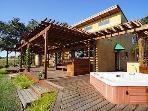 Luxury Tuscan Vineyard Villa on 5 Gated Acres