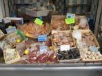 The corner fish market
