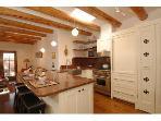 Quite the kitchen with SUBZERO (icemaker) /WOLF/BOSH appliances.