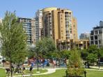 Emery Barnes Park -- Across the Street