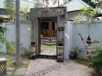 entrance villa Biru