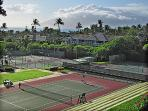 Besides golf, Grand Champions has the Wailea Tennis Club right next door.