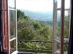 Views from all bedrooms across the Aude Valley.
