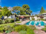 Private home with swimming pool in Point Loma.