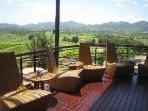 amazing views and hazy days at the Hua Hin Hills Vineyards