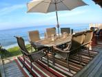 Oceanfront viewing, BBQ, enjoy!