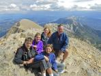 Hike to the top of a mountain - Sacagewea Peak - great family hike from Fairy Lake near BridgerVista