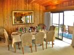 Dining Room, (without table extension), floor is now bamboo, not carpet as pictured