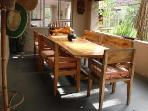 A great table for alfresco dinners