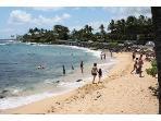 Lawai Beach, a 1 minute walk away