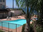 Beach Condo 122- Moonlight Beach, Pool, Spa, Beach