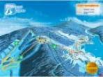 Skiareal Lipno -  mapa new