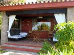 pino spacious covered terrace