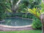 Fully fenced pool