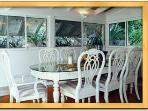 Villa Finistere dining room seats eight
