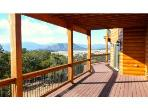 Massive Outter Deck with Classic Colorado Views