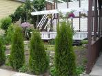 Garden, Deck,