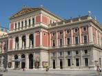 Concert Hall WIENER MUSIKVEREIN - just few minutes walk away