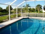 Your own private heated pool