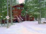 Our Vacation Rental in the Winter