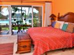 Master bedroom has private oceanfront terrace