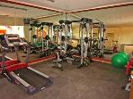 complex gym for residents and renters