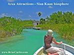 Area Attractions Riviera Maya - Sian Kaan biosphere