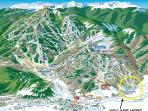 Located in Arrowhead Village - one of three ski-in/ski-out villages at Beaver Creek Resort.