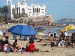 Mazatlan Playa overlooking Valantinos Clubs/Castle