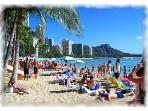 Only 1.5 blocks to famous Waikiki Beach.