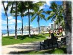 Just sit and relax at Kapiolani Park!!