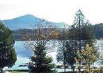 View from Condo of Lake & Whiteface Mt.