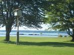 Oneida Lake access (1 block from rental)